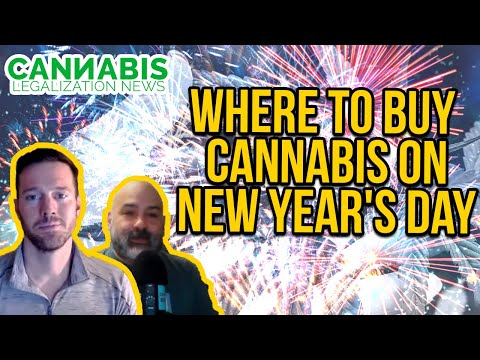 Where to Buy Cannabis on New Year's Day in Illinois