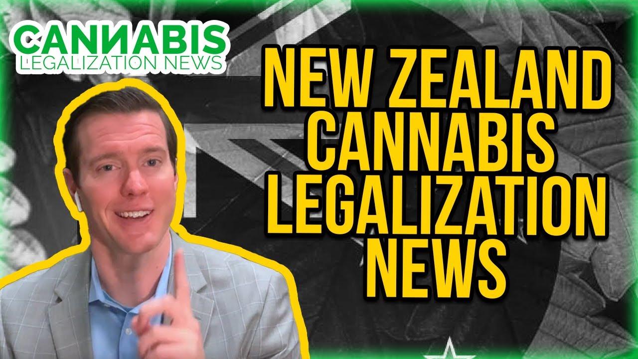 New Zealand Cannabis Legalization News - Adult Use Cannabis Law Ballot initiative.