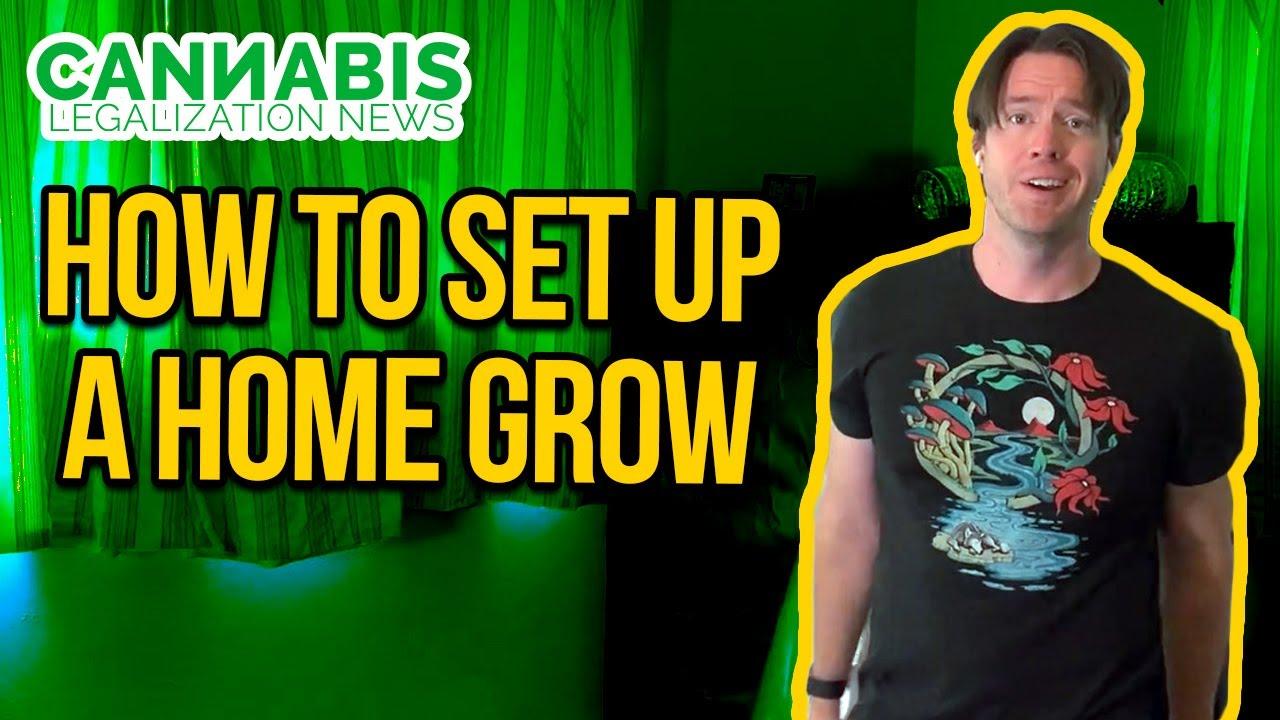 How to Setup a Grow Tent - Basic Grow Tent Kit Setup Guide - Indoor grow tent with carbon filter.