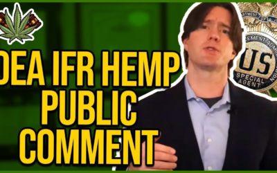 DEA HEMP IFR Public Comment Template – Copy & Paste at Regulations.gov
